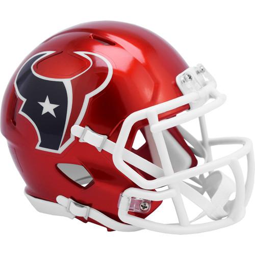 Houston Texans Riddell Speed Mini Helmet - New Flash Alternate