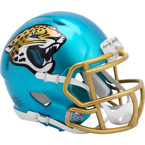 Jacksonville Jaguars Riddell Speed Mini Helmet - New Flash Alternate