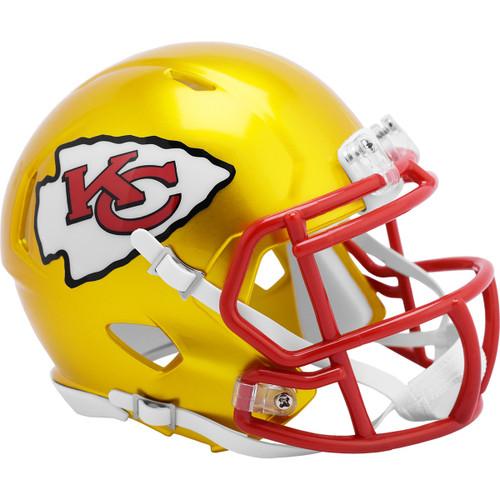 Kansas City Chiefs Riddell Speed Mini Helmet - New Flash Alternate
