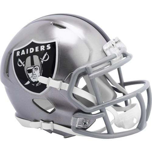 Las Vegas Raiders Riddell Speed Mini Helmet - New Flash Alternate