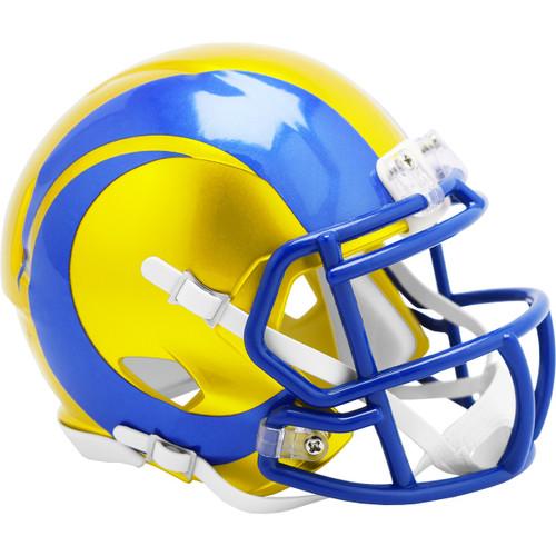 Los Angeles Rams Riddell Speed Mini Helmet - New Flash Alternate