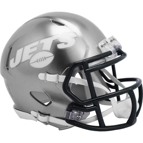 New York Jets Riddell Speed Mini Helmet - New Flash Alternate