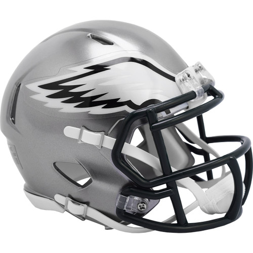 Philadelphia Eagles Riddell Speed Mini Helmet - New Flash Alternate