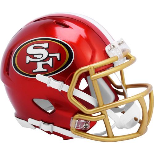 San Francisco 49ers Riddell Speed Mini Helmet - New Flash Alternate