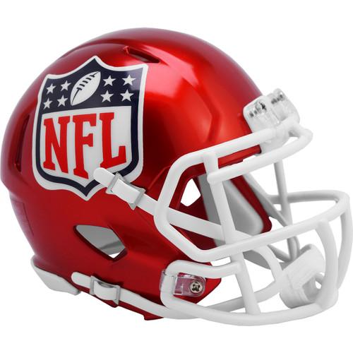 NFL Shield Riddell Speed Mini Helmet - New Flash Alternate