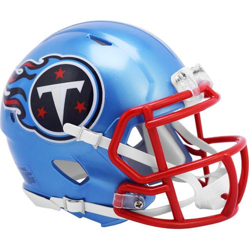 Tennessee Titans Riddell Speed Mini Helmet - New Flash Alternate