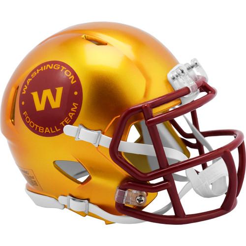 Washington Football Team Riddell Speed Mini Helmet - New Flash Alternate