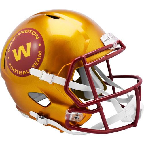Washington Football Team Alternate Flash Replica Speed Full Size Football Helmet