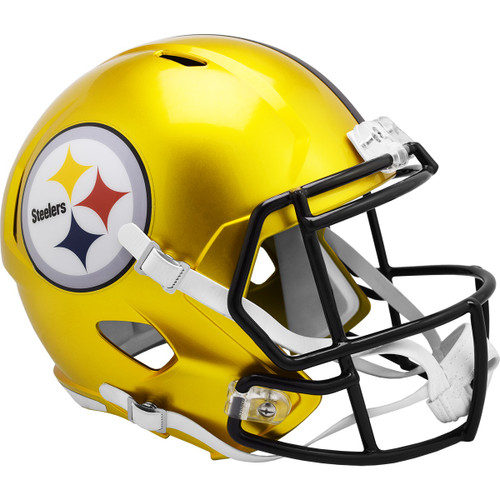 Pittsburgh Steelers Alternate Flash Replica Speed Full Size Football Helmet