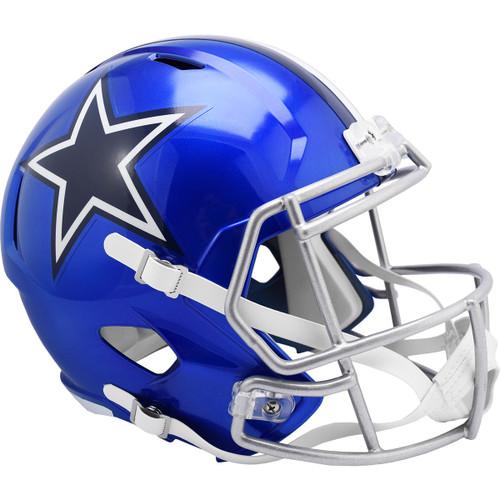 Dallas Cowboys Alternate Flash Replica Speed Full Size Football Helmet