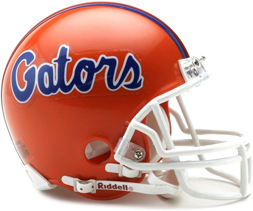 Florida Gators Riddell Mini Football Helmet with Z2B Mask