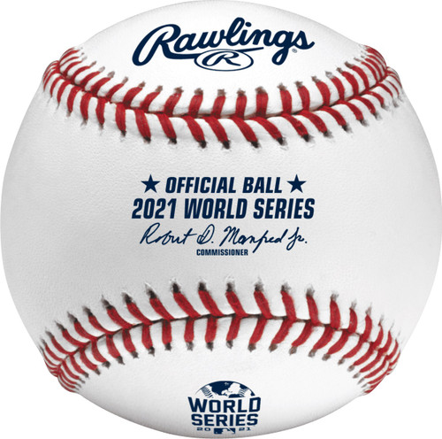 2021 World Series MLB Rawlings Official Baseball in Box (WSBB21)