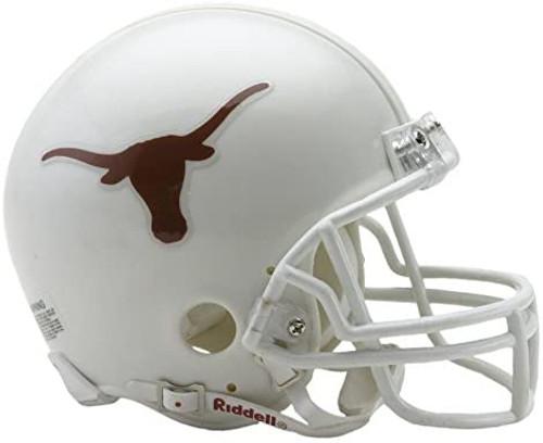 Texas Longhorns Riddell Mini Football Helmet with Z2B Mask
