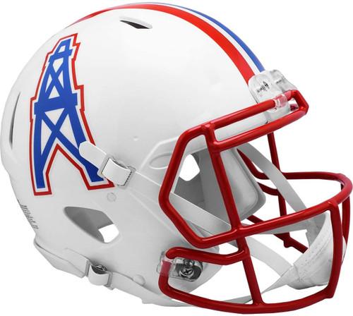 Houston Oilers 1981-1998 Throwback SPEED Riddell Full Size Authentic Football Helmet