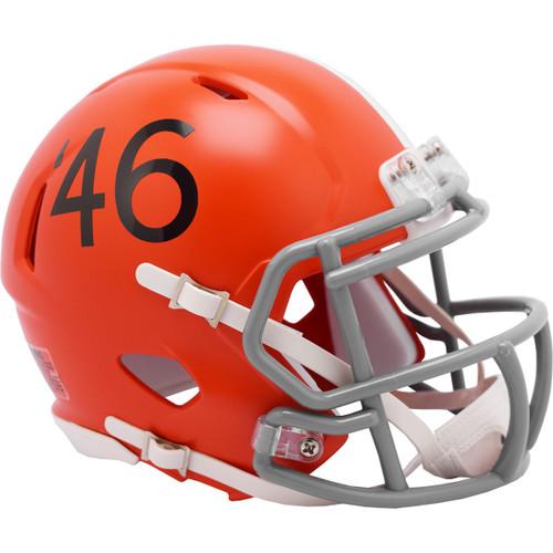 Cleveland Browns 1946 Throwback Revolution SPEED Mini Football Helmet