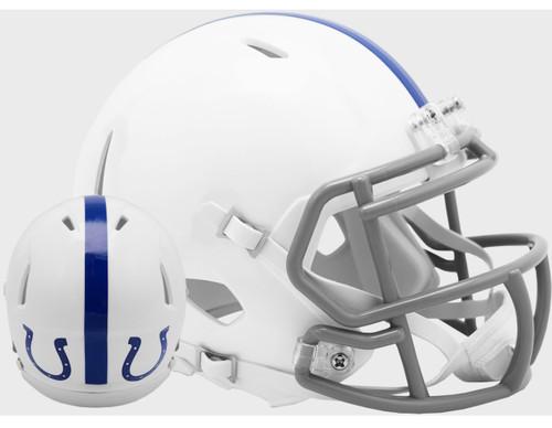 Indianapolis / Baltimore Colts 1956 Throwback Revolution SPEED Mini Football Helmet