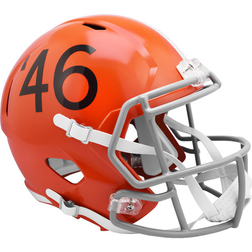 Cleveland Browns 1946 Throwback SPEED Riddell Full Size Replica Football Helmet