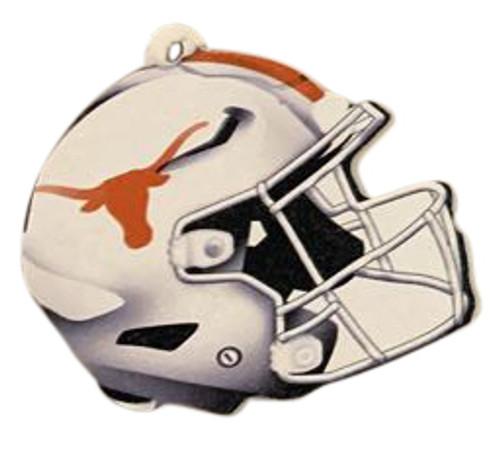 Texas Longhorns Wood Football Helmet Christmas Tree Ornament