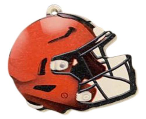Cleveland Browns NFL Wood Football Helmet Christmas Tree Ornament