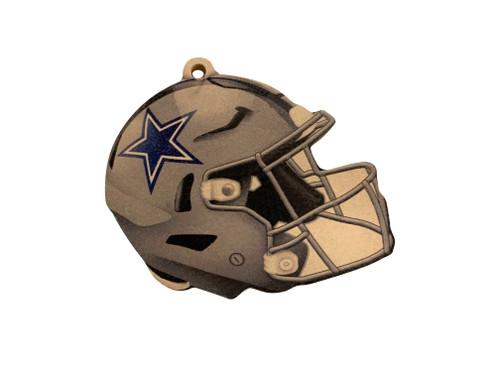 Dallas Cowboys NFL Wood Football Helmet Christmas Tree Ornament