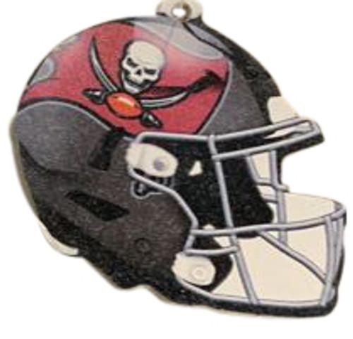 Tampa Bay Buccaneers NFL Wood Football Helmet Christmas Tree Ornament