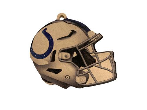 Indianapolis Colts NFL Wood Football Helmet Christmas Tree Ornament