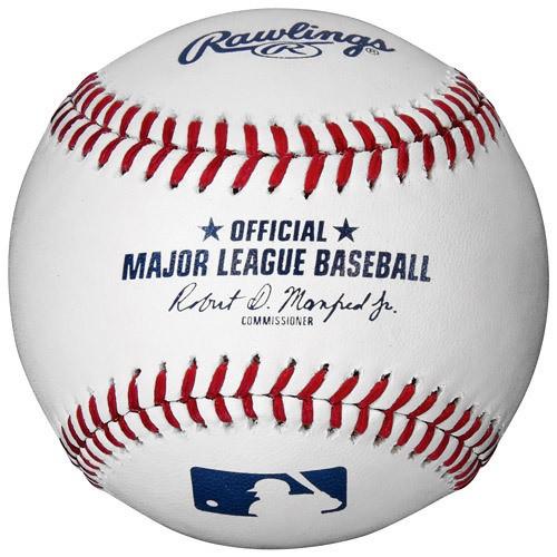 Dozen Rawlings Official MLB Pro Baseballs ROMLBPRO image