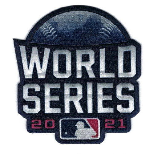 MLB 2021 World Series Collectors Patch