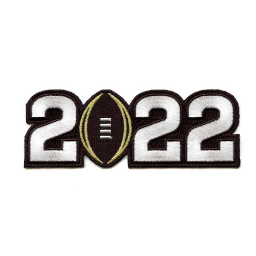 NCAA 2022 CFP On-Field Patch Collectors Patch