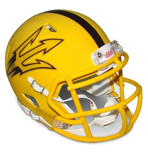Arizona State Sun Devils Gold Revolution SPEED Mini Football Helmet