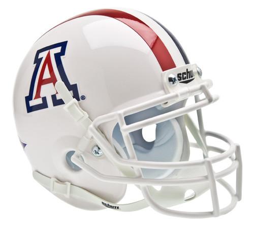 Arizona Wildcats Alternate White Schutt Mini Authentic Helmet