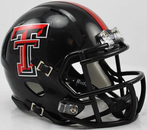 Texas Tech Red Raiders NCAA Riddell Speed Mini Football Helmet