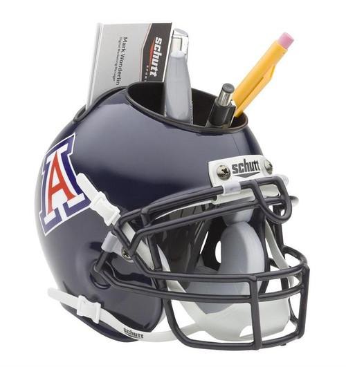Arizona Wildcats (Navy) Mini Helmet Desk Caddy by Schutt