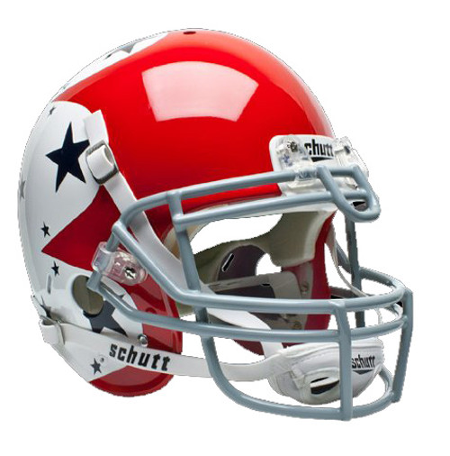 Air Force Falcons Special Red White & Blue Alternate Schutt Full Size Authentic Helmet