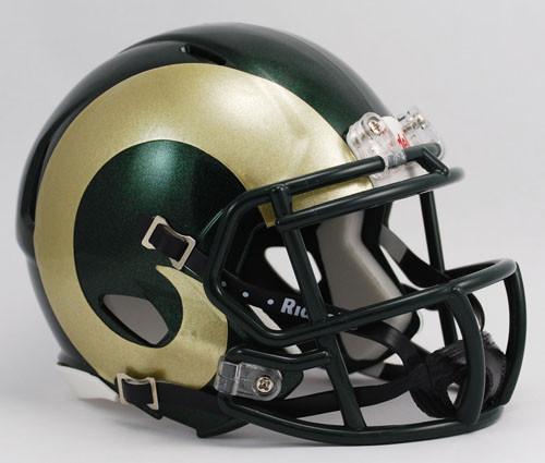 Colorado State Rams Revolution SPEED Mini Helmet