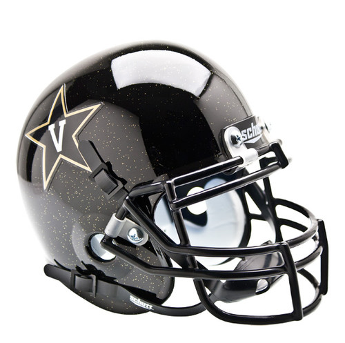 Vanderbilt Commodores Alternate Black Schutt Mini Authentic Helmet
