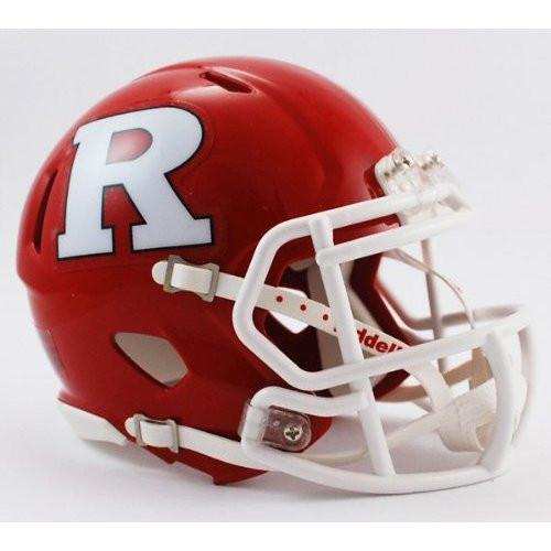 Rutgers Scarlet Knights NCAA Riddell Speed Mini Helmet
