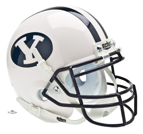 BYU Brigham Young Cougars Schutt Mini Authentic Helmet