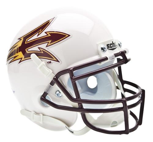 Arizona State Sun Devils White Schutt Mini Authentic Helmet