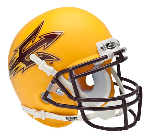 Arizona State Sun Devils Gold Schutt Mini Authentic Helmet