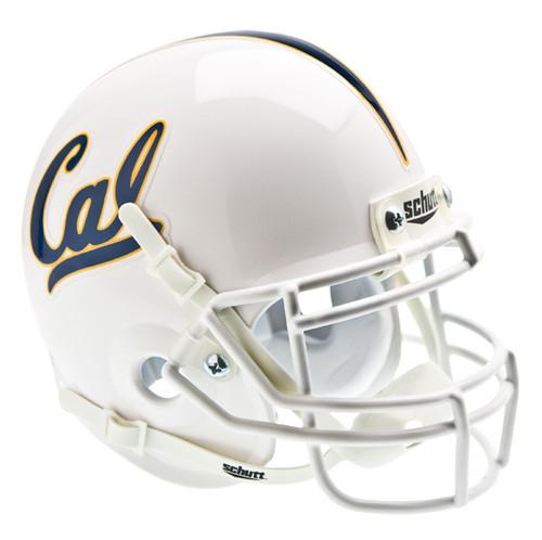 Cal Berkeley Golden Bears Alternate White Schutt Mini Authentic Helmet