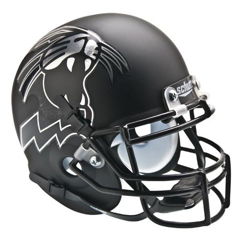 Northwestern Wildcats Alternate Black Schutt Mini Authentic Helmet