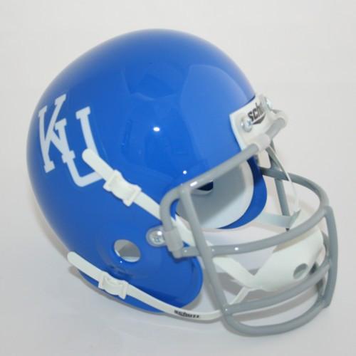 Kansas Jayhawks 1964 Schutt Throwback Mini Authentic Helmet