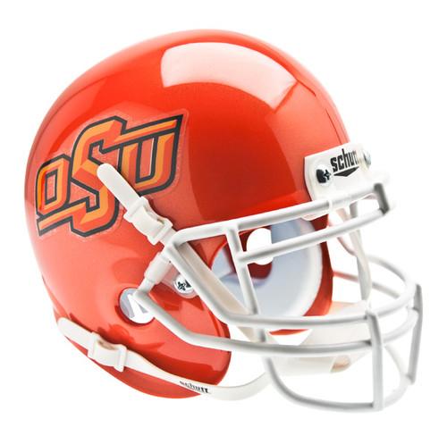 Oklahoma State Cowboys Alternate Orange Schutt Mini Authentic Helmet