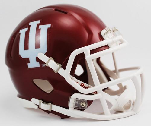 Indiana Hoosiers NCAA Riddell SPEED Mini Helmet
