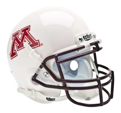 Minnesota Golden Gophers Alternate White Schutt Mini Authentic Helmet