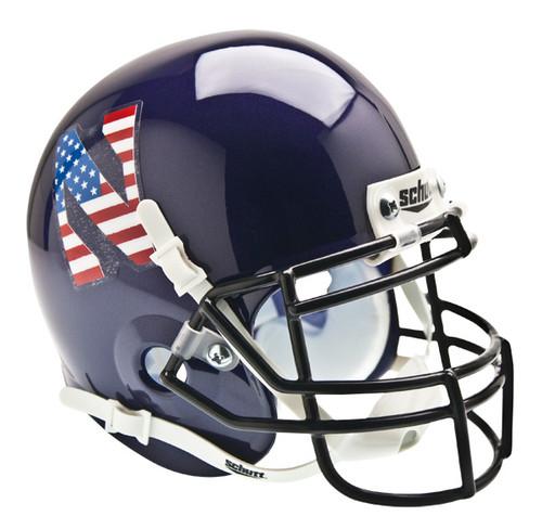 Northwestern Wildcats Alternate USA Flag Schutt Mini Authentic Helmet