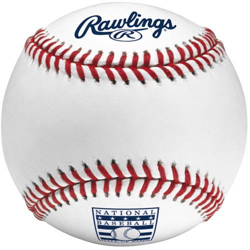 Dozen MLB Hall of Fame Rawlings Official Baseballs
