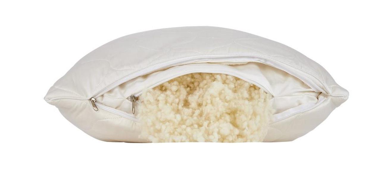 Sleep & Beyond myWool Pillow™ 100% Washable Wool Pillow