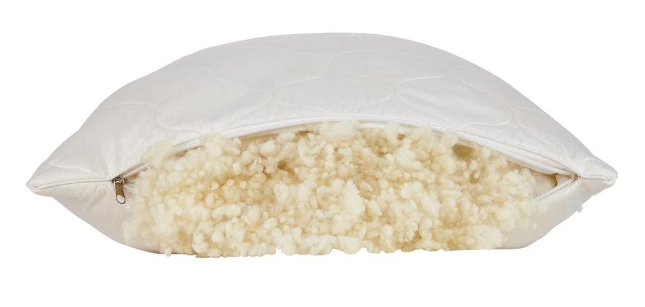Sleep & Beyond myWool Pillow™ 100% Washable Wool Pillow Wool Filling
